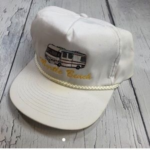 Vintage 80's trucker hat SnapBack myrtle beach